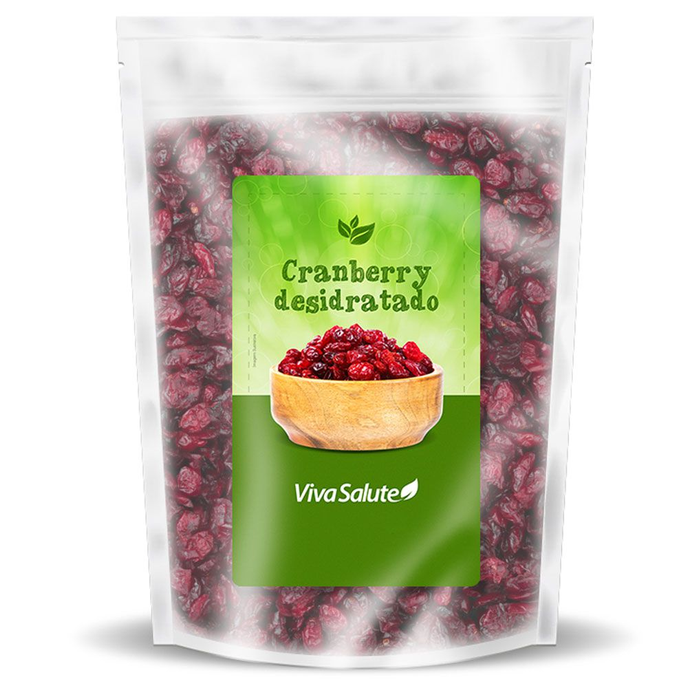 Cranberry Desidratada Viva Salute - 500g
