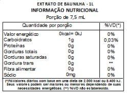 Extrato de Baunilha Concentrado Premium 23ml