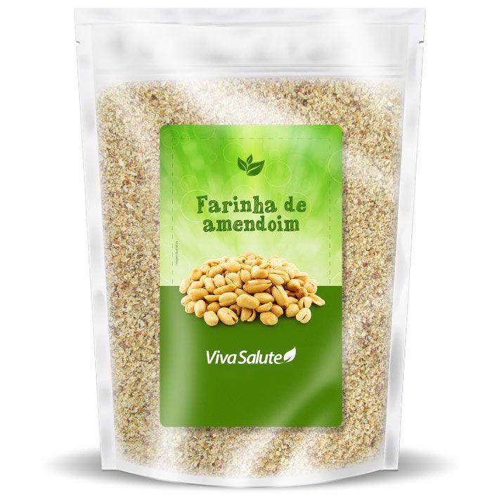 Farinha de Amendoim Viva Salute - 1Kg | Ven 17/01