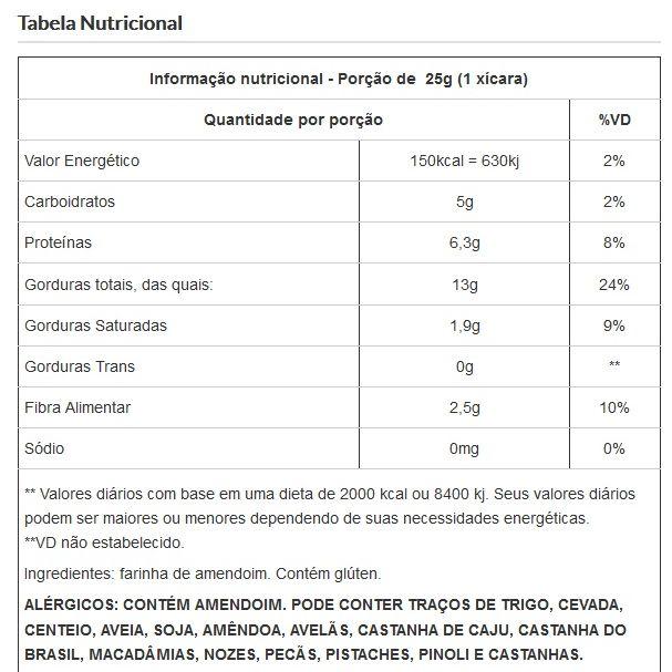 Farinha de Amendoim Viva Salute - 200g