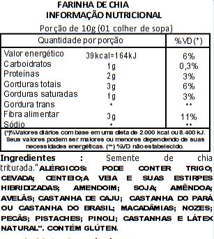 Farinha de Chia Viva Salute - 500g
