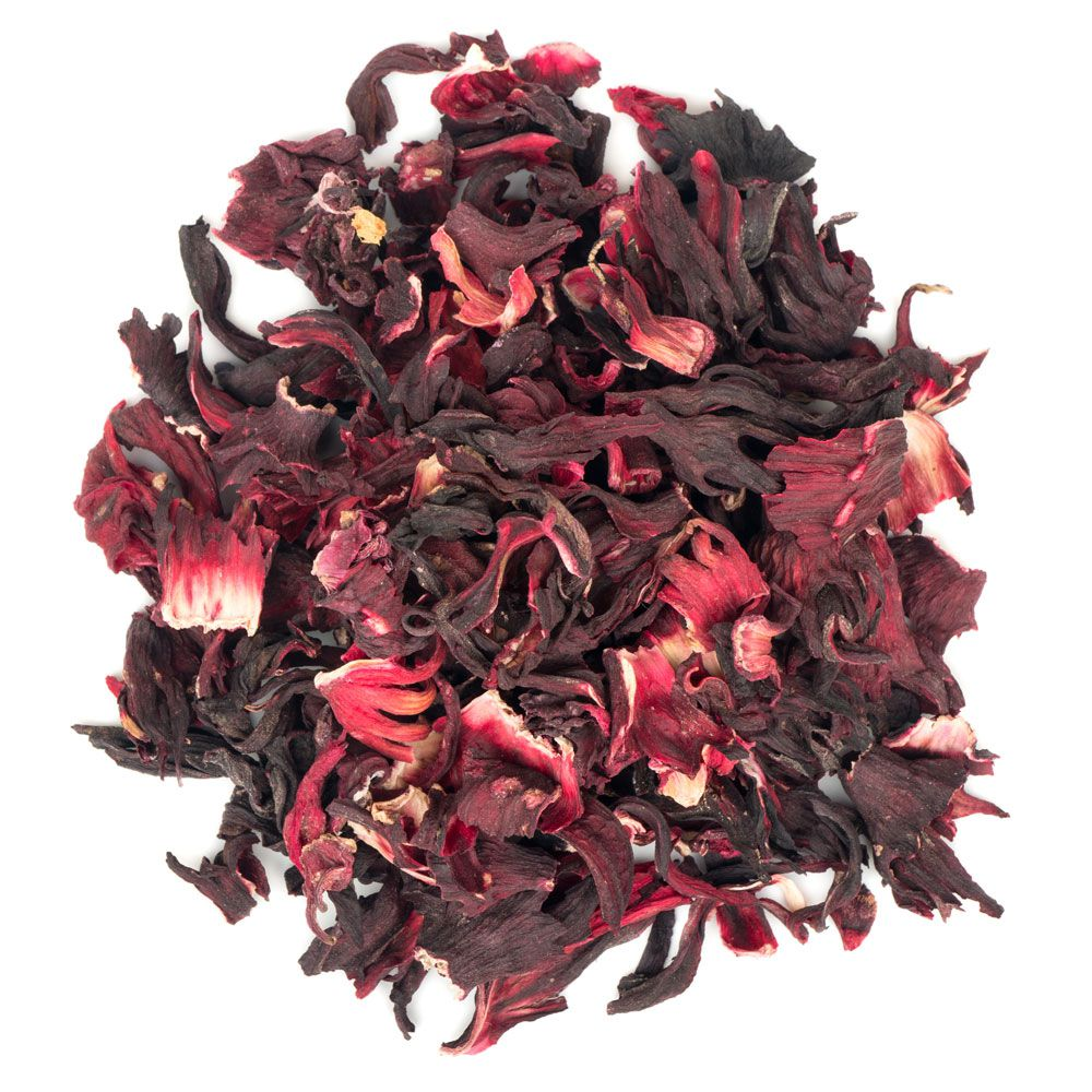 Flor de Hibisco Desidratada Para Chá Viva Salute - 100 g