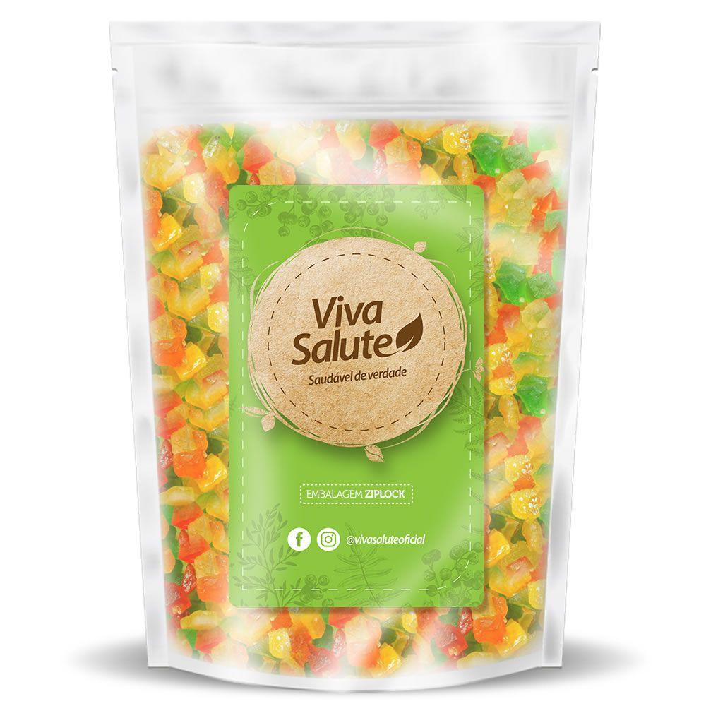Frutas Cristalizadas Viva Salute - 500g