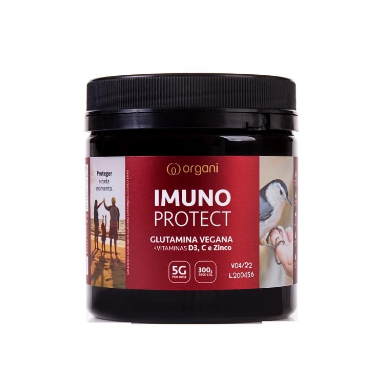 Kit Glutamina com Vitaminas D, C e Zinco Imuno Protect - 2x 300g