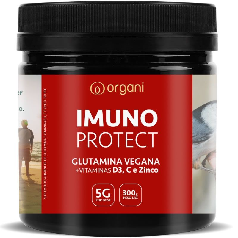 Kit Glutamina Imuno Protect - A mais Completa do Brasil - 2x 300g