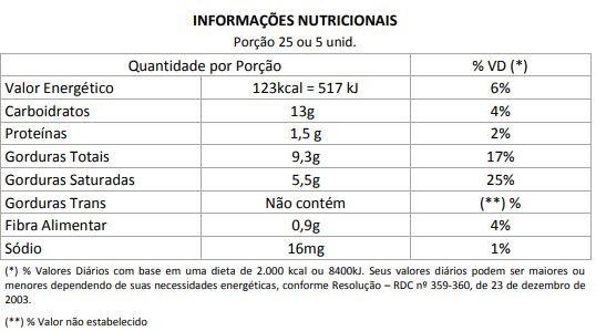 Lingua de Gato - zero açúcar - 100g