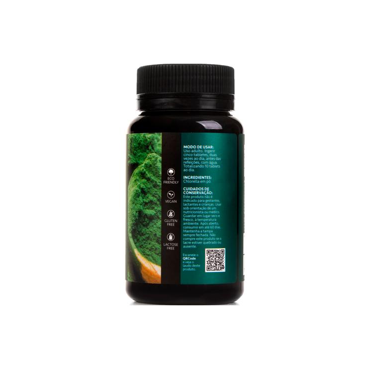 Mega Chlorella Organi-300 comprimidos(Não Contém Glúten )