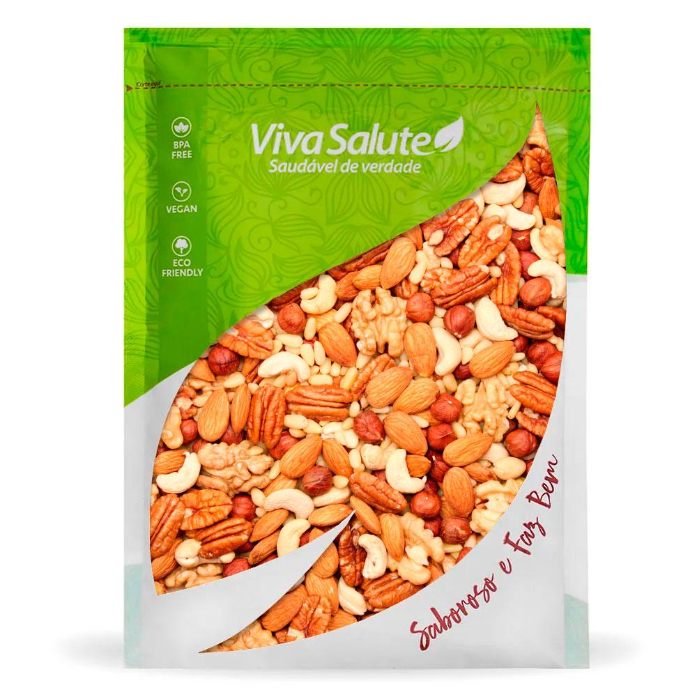 Mix de Castanhas (Mixed Nuts) Premium Viva Salute - 200g