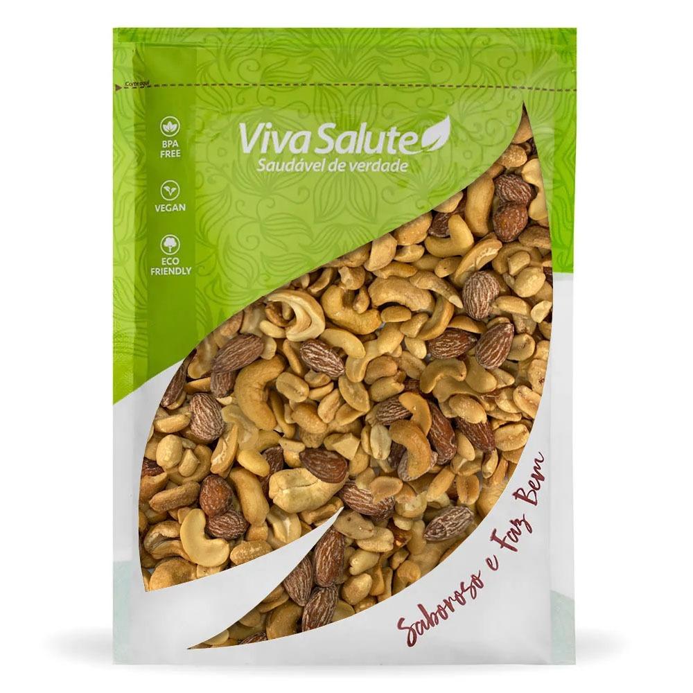 Mix Nuts (Mixed Nuts) Salgado Premium - 500 G