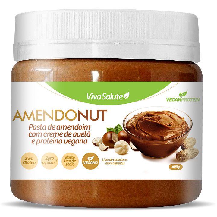 Pasta de Amendoim com Avelã e Cacau (Amendonut) - 400g