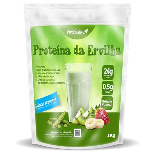 Proteína de Ervilha Importada (Vegan Protein) - 1kg