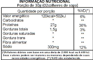 Proteína de Soja Isolada (90% PIS) Viva Salute - 1Kg