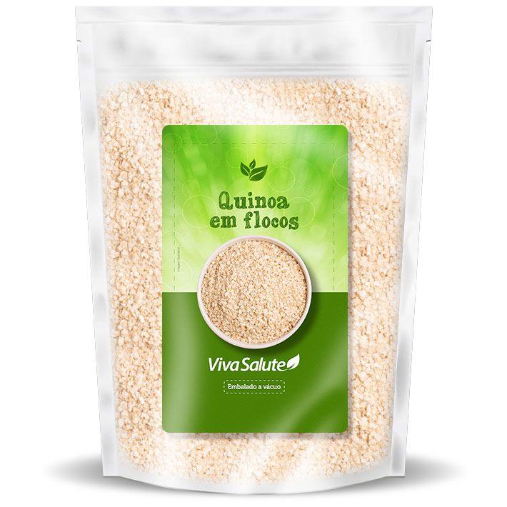 Quinoa em Flocos (Quinua) Viva Salute - 1Kg