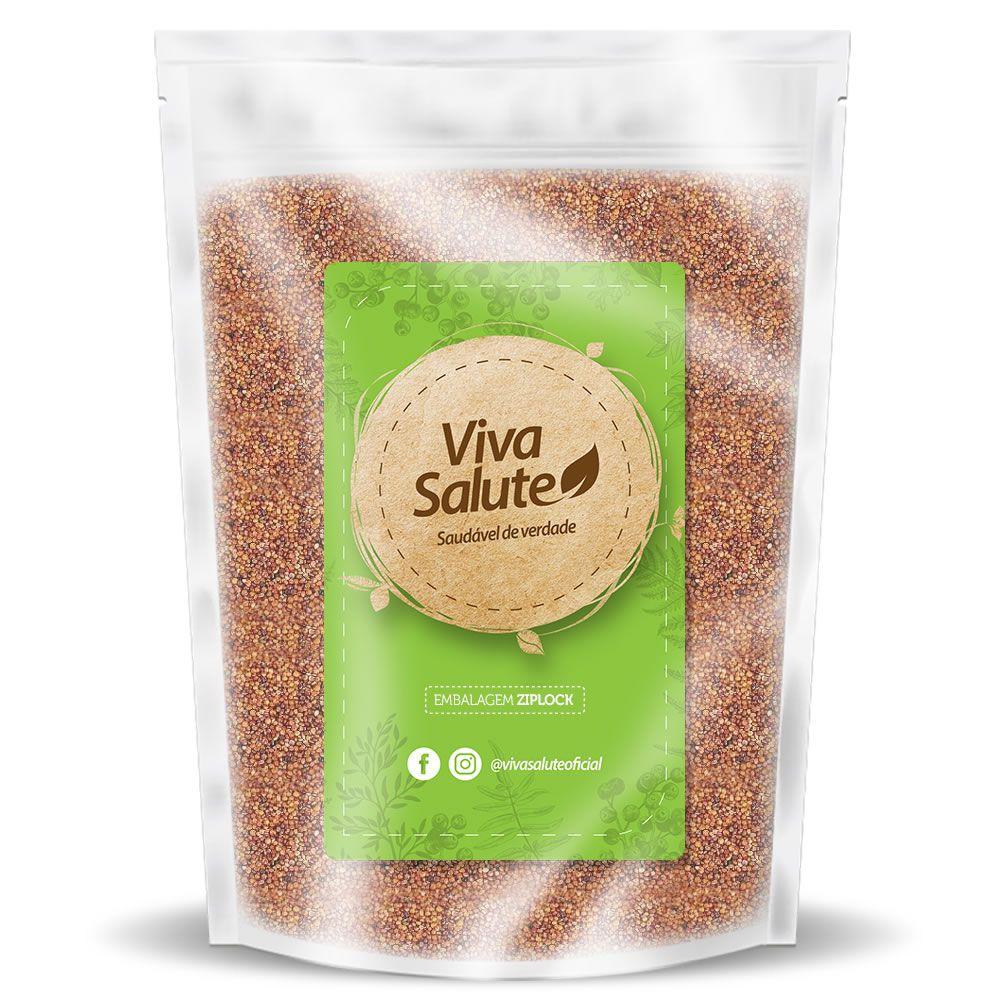 Quinoa Vermelha em Grãos Viva Salute - 1kg