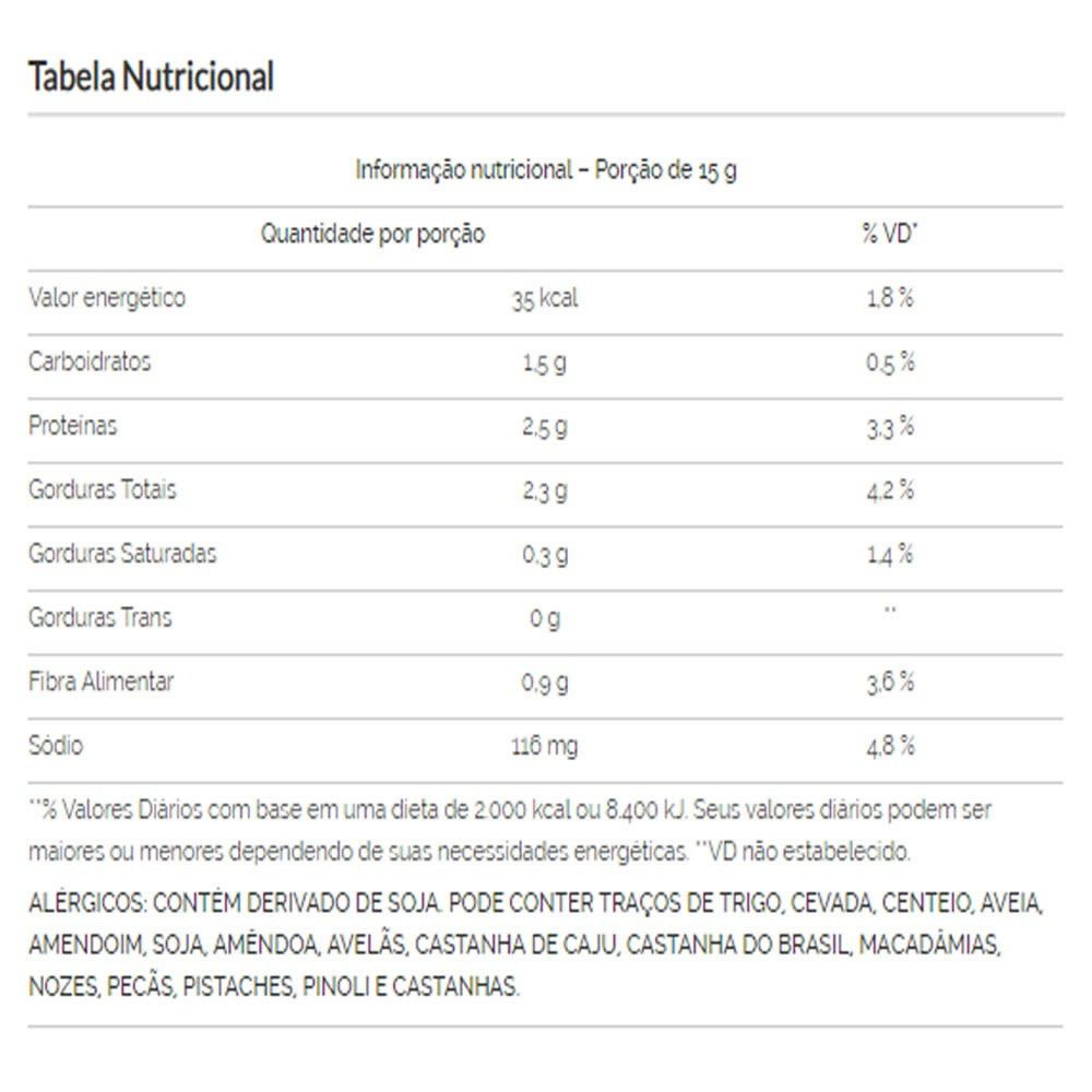 Soja Crocante Torrada e Salgada Sabor Cebola e Salsa 1Kg