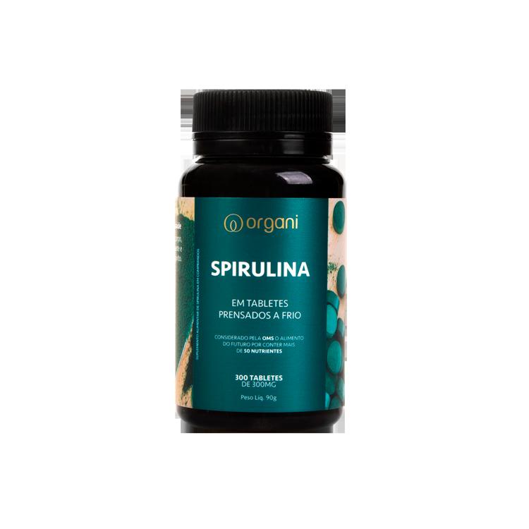 Spirulina Organi - 300 comprimidos