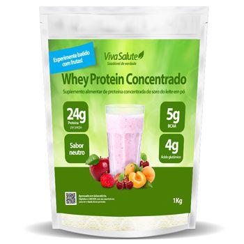 Whey Protein Concentrado (WPC) Viva Salute - 1Kg