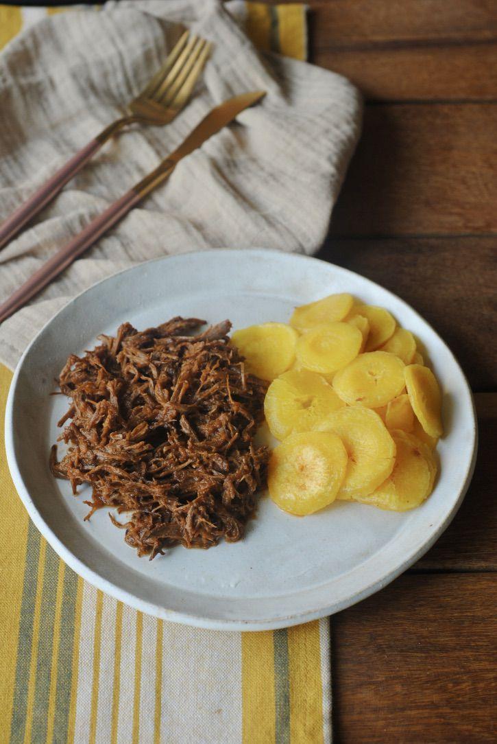 Carne Desfiada + Mandioquinha