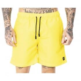 Bermuda amarela neon