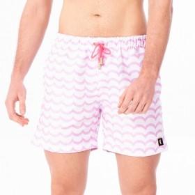 Bermuda ondas rosa candy