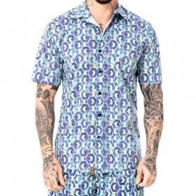 Camisa Geometrica Color