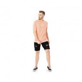 Camiseta neon laranja