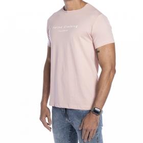 Camiseta Pima rosa Forinc Clothing