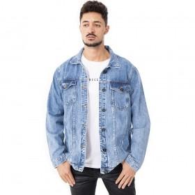 Jaqueta jeans tradicional