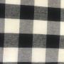 Camisa xadrez preto com branco