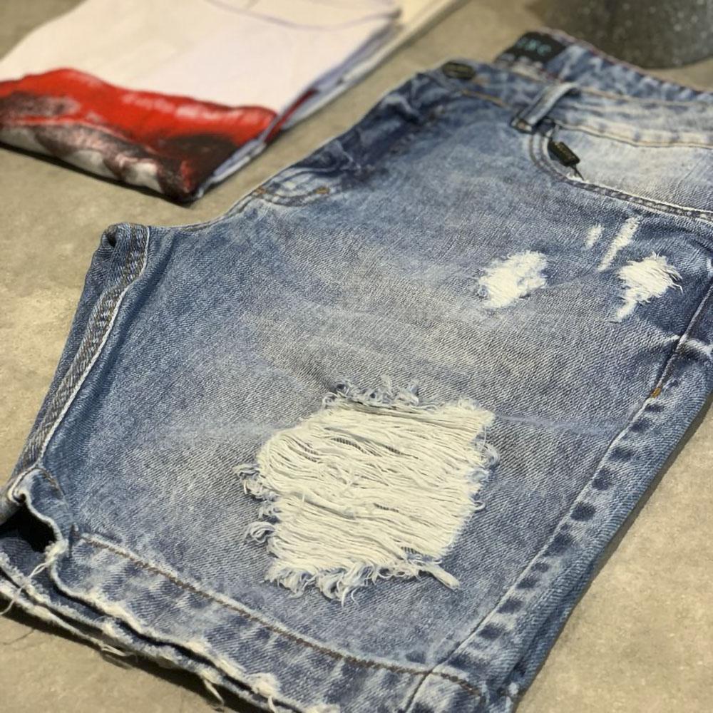 Bermuda Jeans clara Destroyed