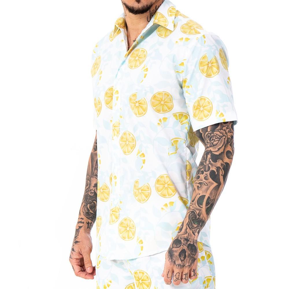 Camisa limão siciliano