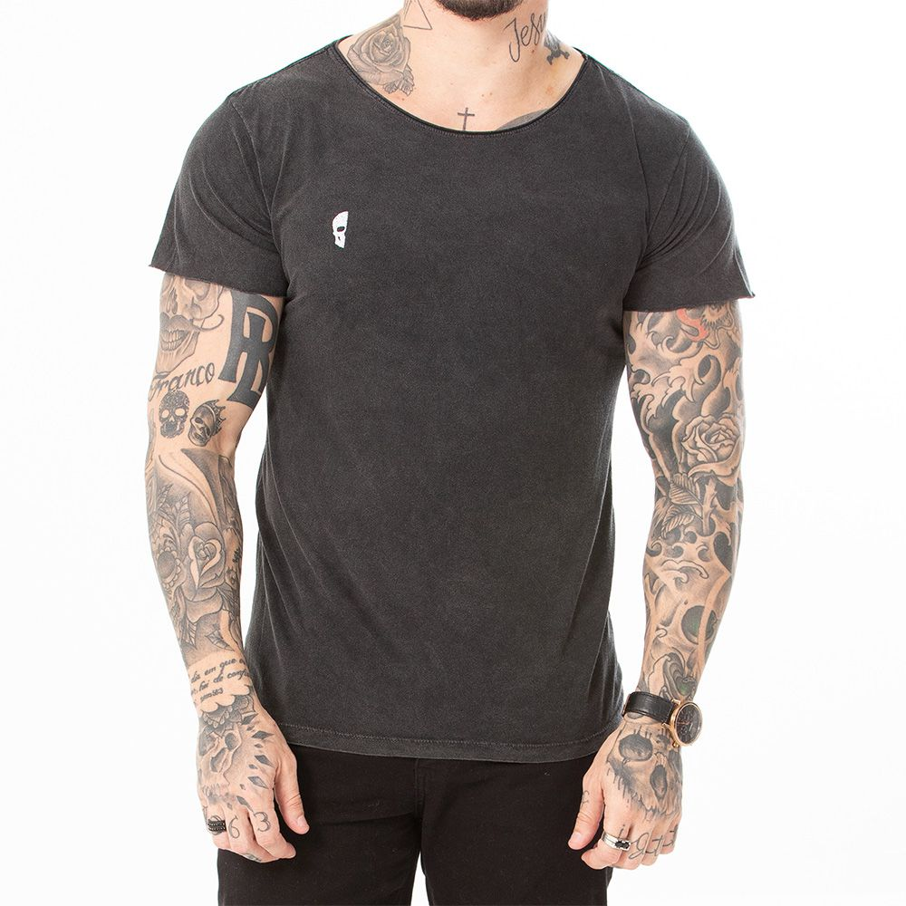 Camiseta Basica Marmorizada