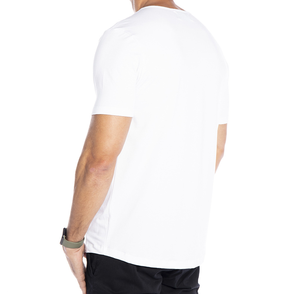 Camiseta branca Básica Supimã