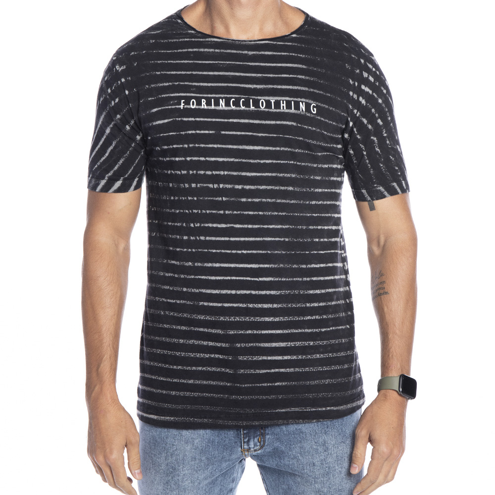 Camiseta Listra preta