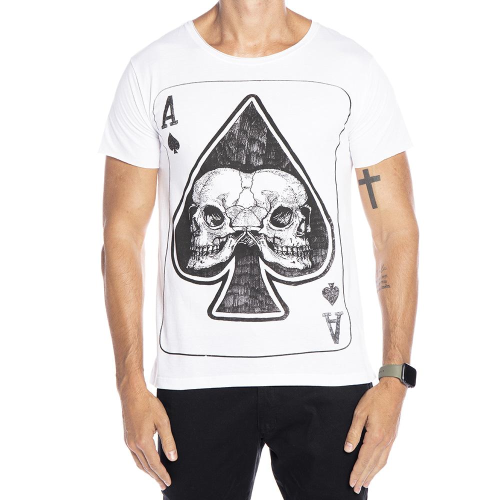 Camiseta Skull Card