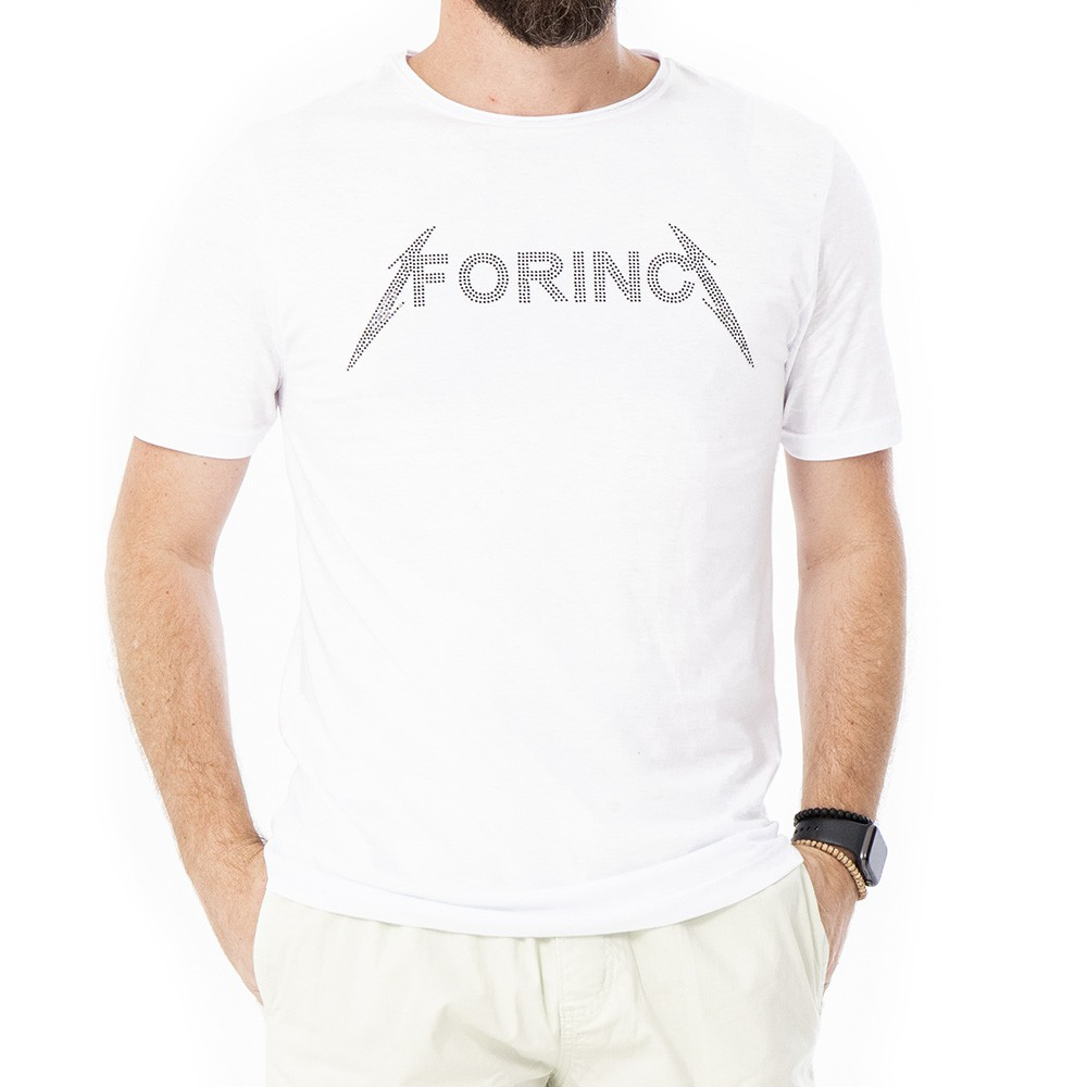 Camiseta strass forinc