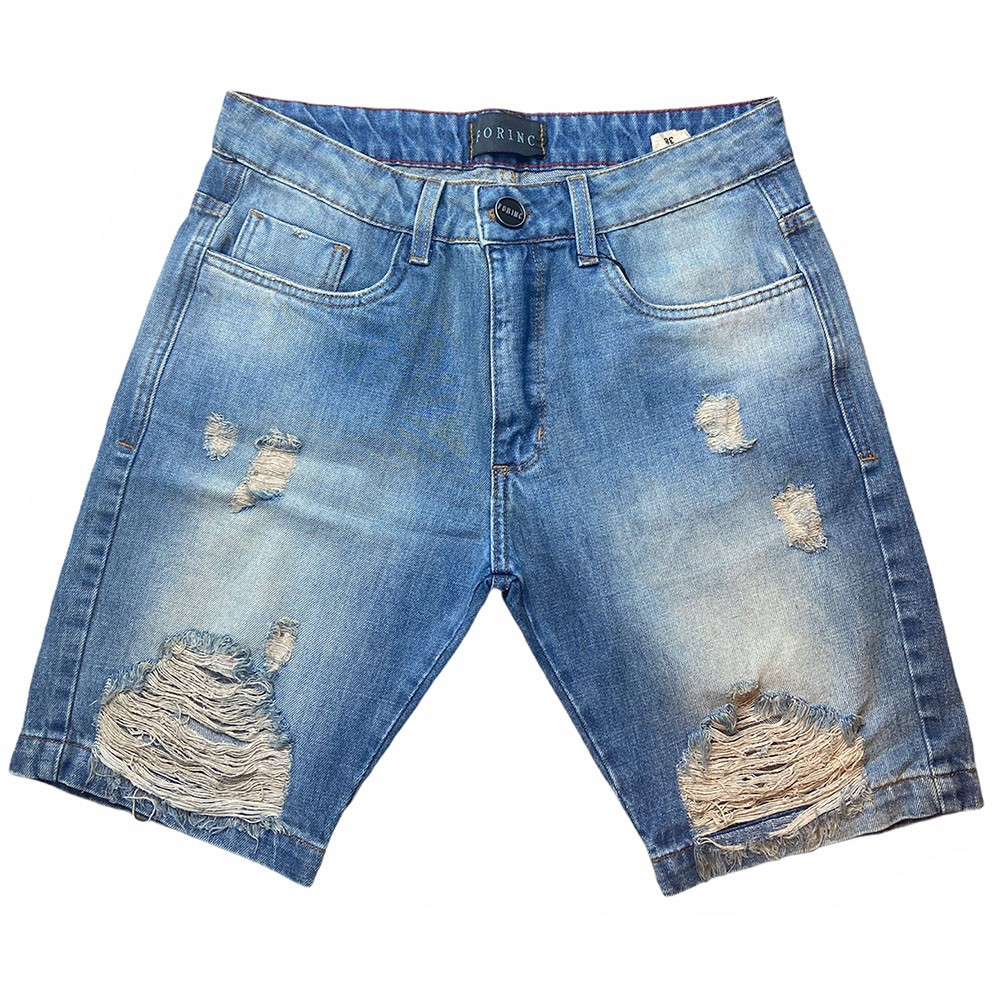 Bermuda Jeans destroyed