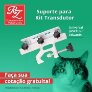 Suporte para Kit Transdutor  Universal  / Edwards (ASKTU)