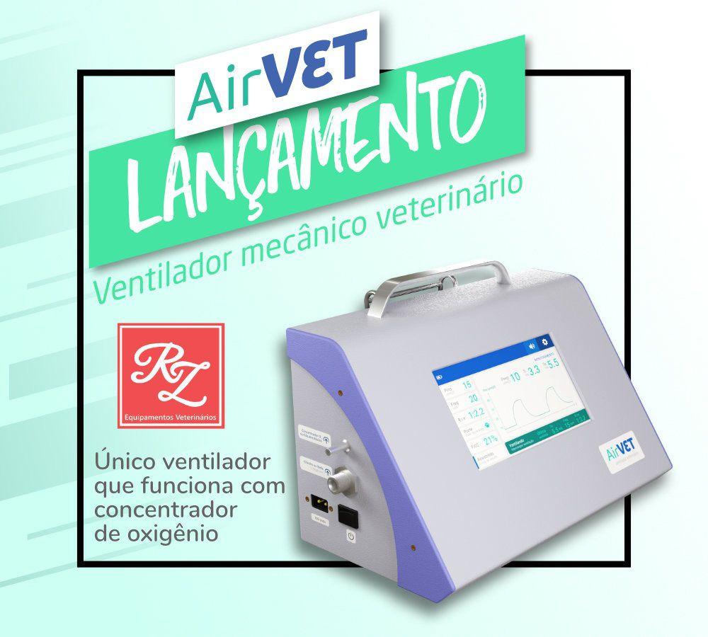 Ventilador Mecânico Veterinário AirVet