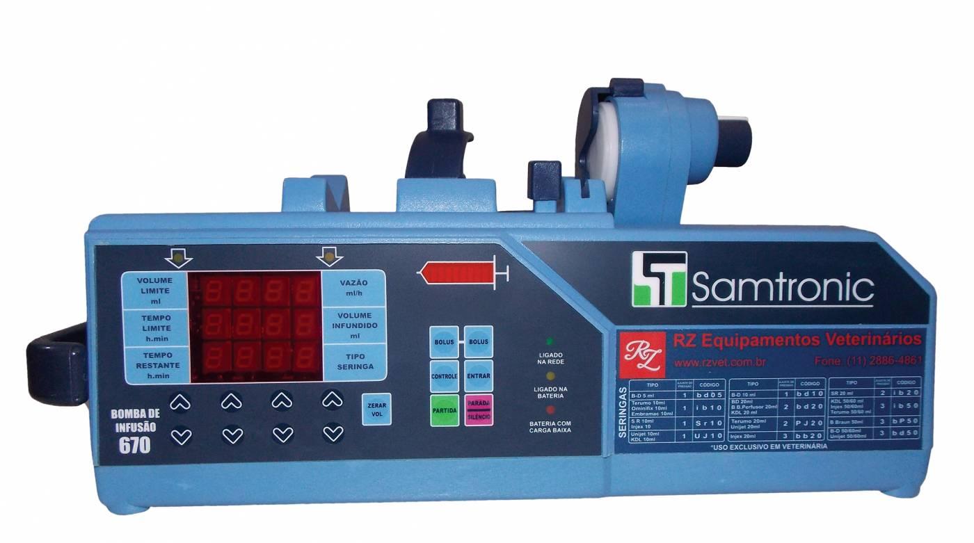 Bomba de Seringa ST 670 Samtronic