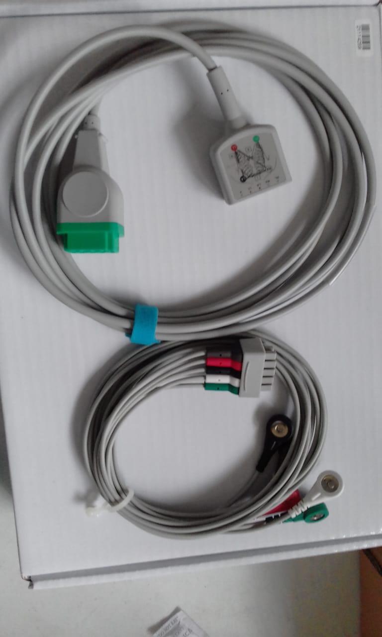 ITEM COM CÓDIGO DUPLICADO - Cabo ECG compatível monitor GE (ACEGE)