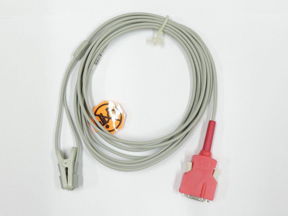 Cabo SPO2 Compatível Masimo - Plug vermelho/metálico