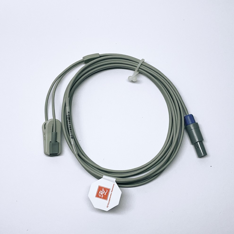 Cabo SPO2 (oximetria) Compatível Monitor Portátil R1000 VET (ACSR1000P)