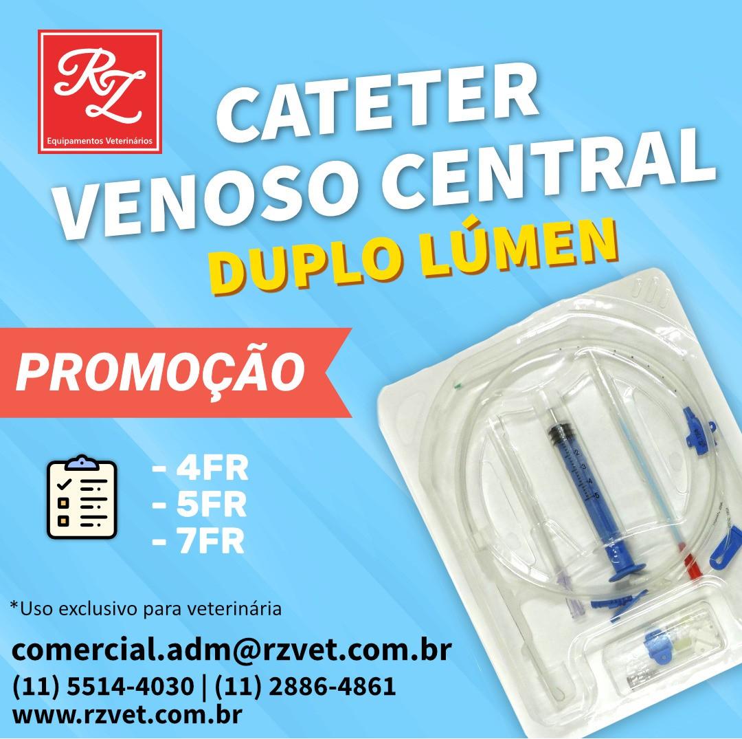 Cateter Venoso Central - Duplo Lumen