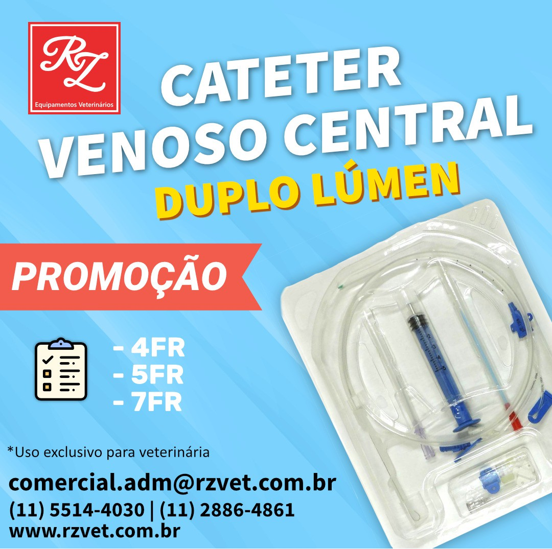 Cateter Venoso Central - Triplo Lumen 7Fr x 20cm (DCVCD3)
