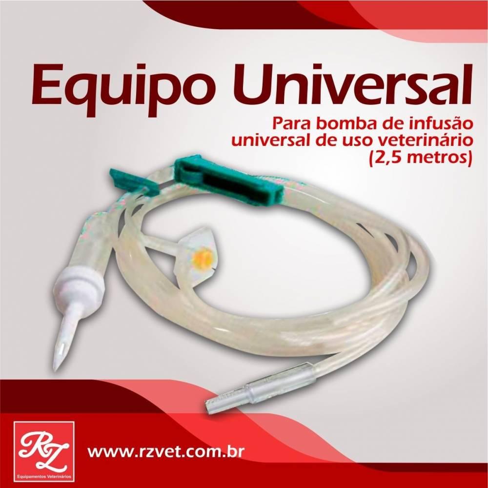 Equipo universal de uso Veterinário de 2,5M
