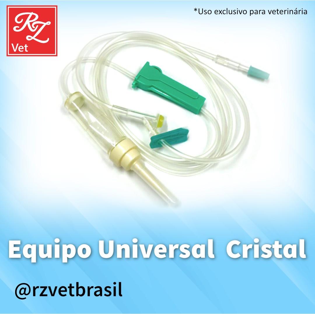 Equipo Universal de uso Veterinário de 2,5M Para Transfusão de Sangue e Derivados (DESU)