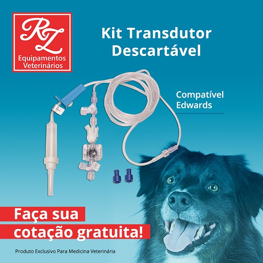 Kit Transdutor Descartável - Compatível Edwards