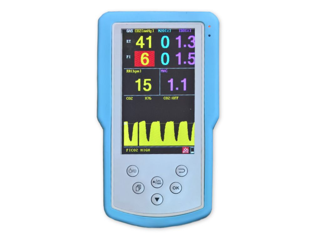Monitor de Análise de Gases (agentes anestésicos) - R300
