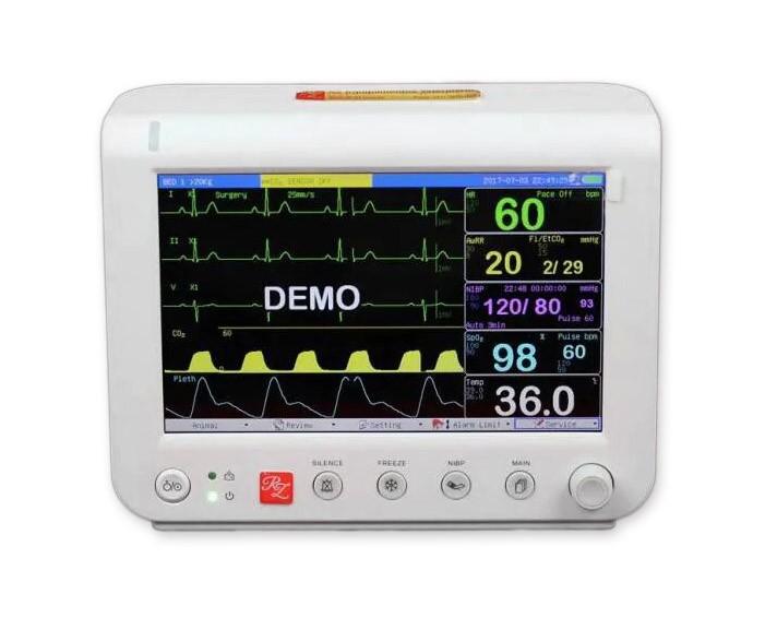 Monitor de Sinais Vitais Veterinária RM700Vet